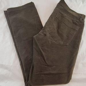 J Crew Matchstick Corduroy Pants